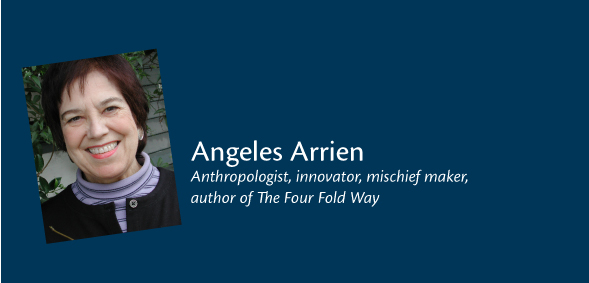 Angeles Arrien - speaker at the Navigating Your Future 2012 Conference in Santa Fe, NM 24th Aug