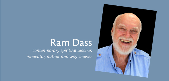 Ram Dass - keynote speaker at Navigating Your Future Conference 2012